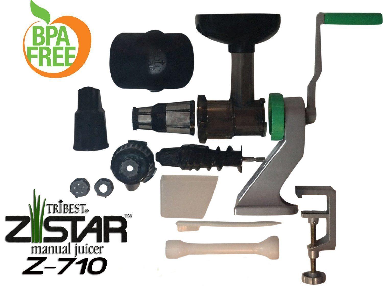 avis ce que je pense de l 39 extracteur manuel tribest z star 710. Black Bedroom Furniture Sets. Home Design Ideas